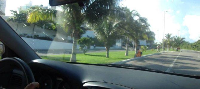Viajar por Cancún en auto